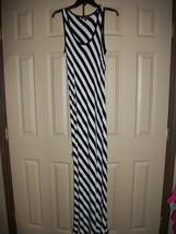 Womens Spense Black and White Maxi Dress Size Medium  - $10.05