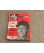 Baseball Digest Don Hoak, Cinn Redlegs, Duke Maas, Ed Bouchee, Boyd July... - $16.75