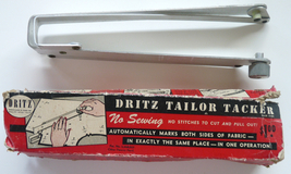 Dritz Tailor Tacker marker sewing tool vintage notion 1940 1950 aluminum... - $12.00