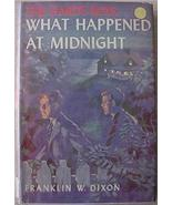 Hardy Boys Mystery # 10 WHAT HAPPENED AT MIDNIGHT HC/DJ orange Gretta eps - $12.00
