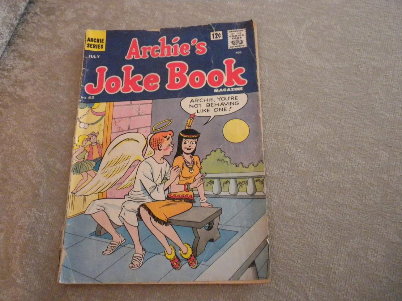Archie's Joke Book Comic July 1962 VG-   # 63