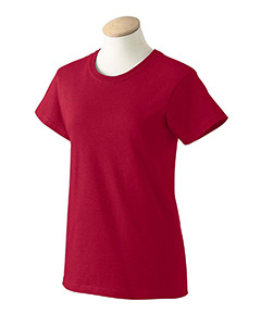 Safety green 2XL G200L Gildan Women ultra cotton high visibility tee