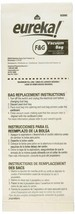Genuine Eureka Sanitaire FG Cleaner Bags 54924B-10 OEM 4000 5000 Single Bag - $5.60