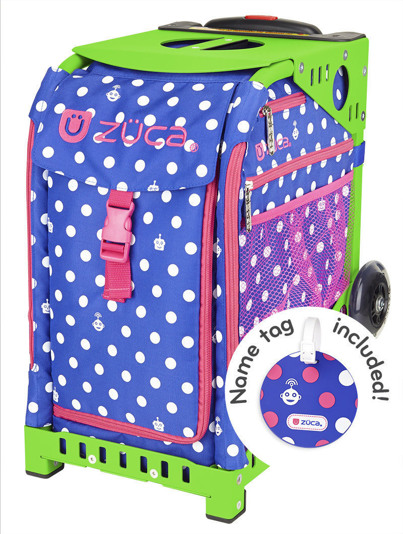 Primary image for Zuca Insert Bag only - Polka Bots - Frames sold Separately