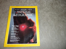 Electronic Chips, Silicon Valley California, Thailand National Geographic 1982 - $5.79