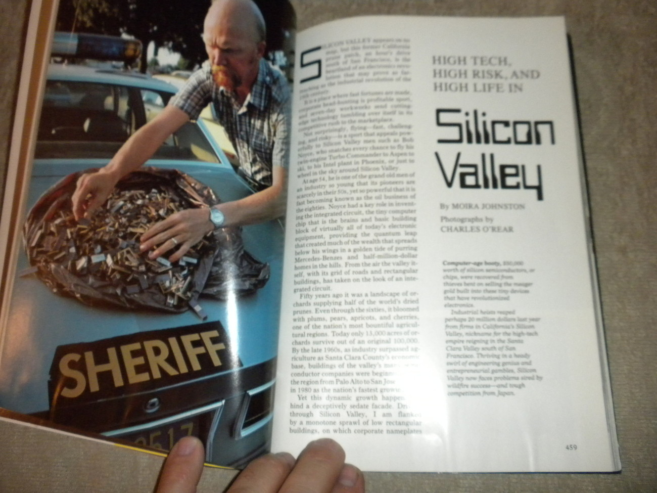 Electronic Chips, Silicon Valley California, Thailand National Geographic 1982