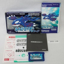 Nintendo Gameboy Advance GBA pokemon Sapphire Pocket monster Box Work 20... - $32.49