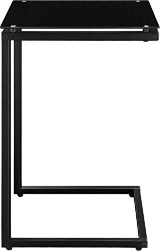 Crane Side End Table Eating Bed Couch Sofa Snack Munch Dine Glass Top C Dining