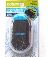 Conair Styling Essentials Bobby Pins, Black, 75 bobby pins - $2.99