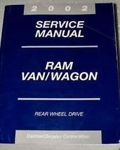 2002 Dodge Ram Van Wagon Service Repair Shop Manual Factory Oem 02 Book Huge - $54.44