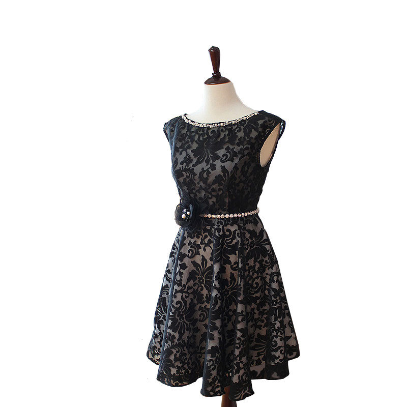 Wedding Gown For Parents: Rosyfancy Black Organza Lace Family Parent-child Matching