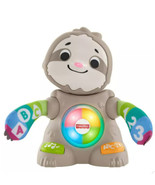 Fisher-Price Linkimals Smooth Moves Sloth - Sings And Teaches Works SUPE... - $22.76