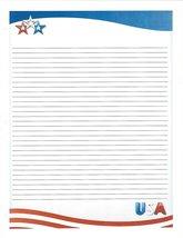 USA 3 Hole Loose Leaf Paper 50 Sheets - $16.82