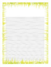 Grass 3 Hole Loose Leaf Paper 50 Sheets - $16.82