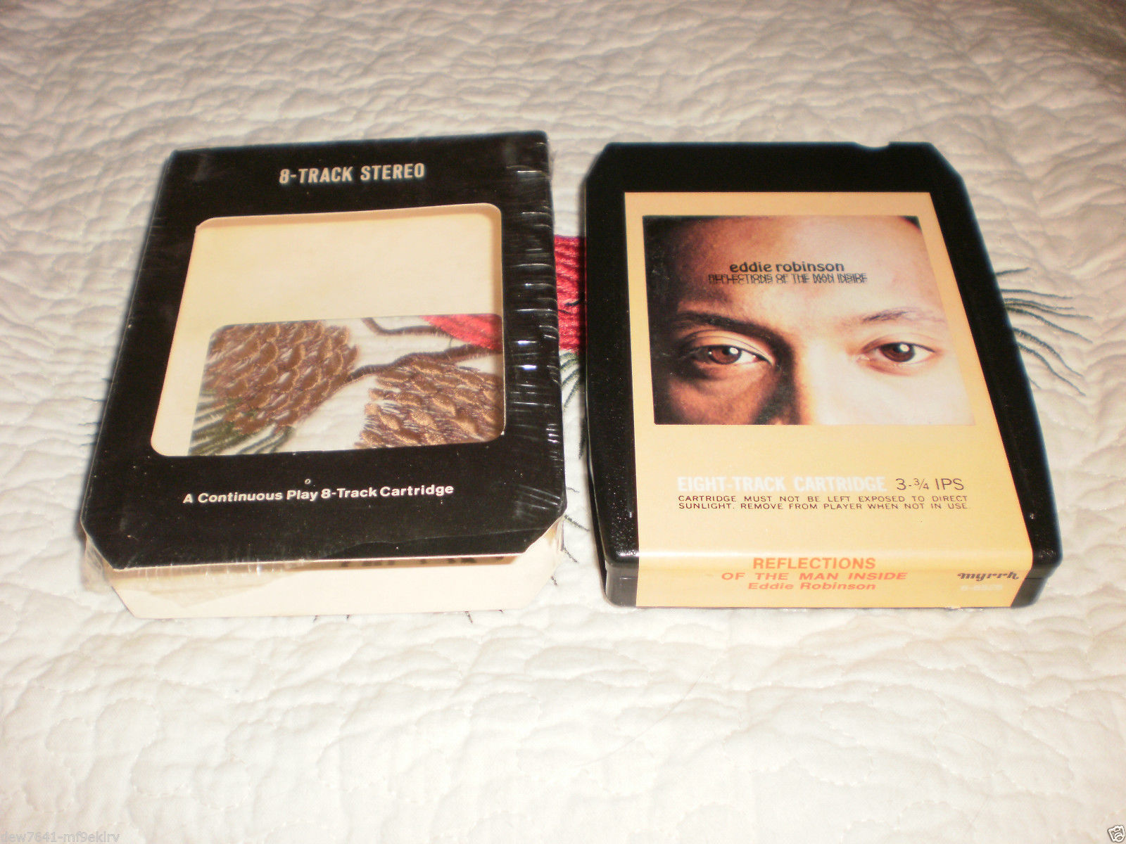 Primary image for Eddie Robinson Reflections of the Man Inside 8 track tape