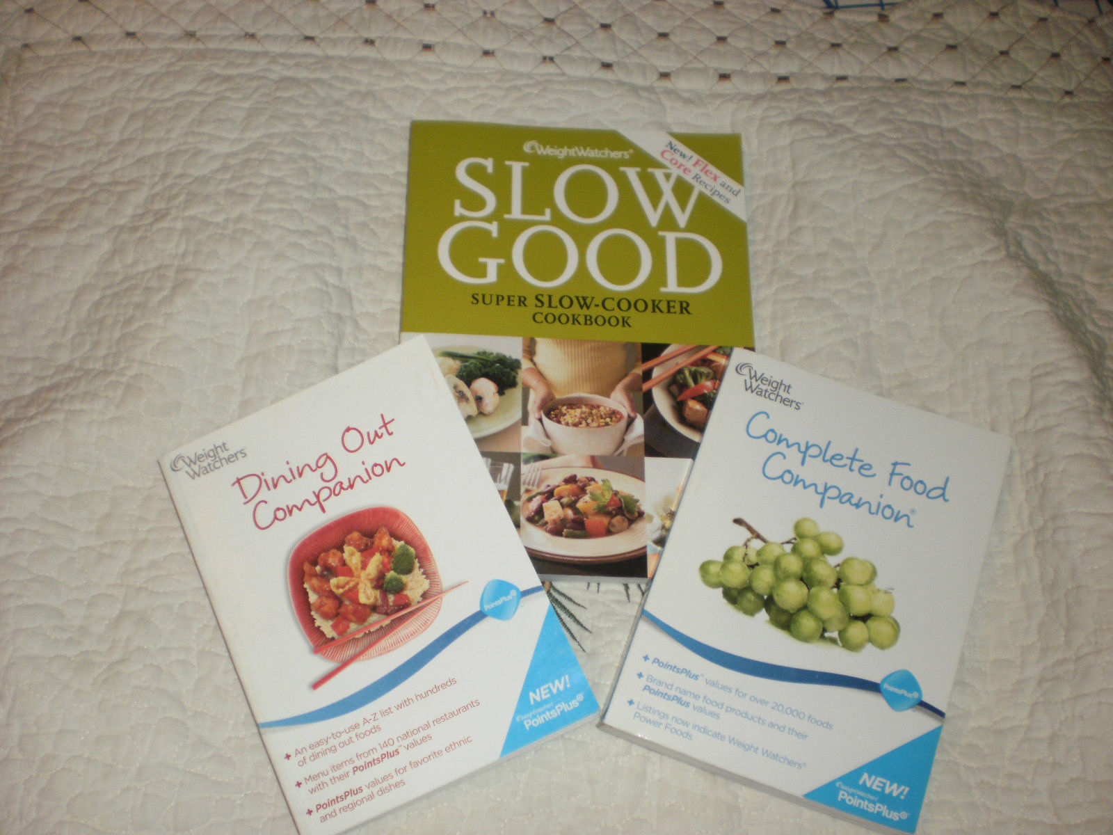 Primary image for Weight Watchers Lot Slow Good Super Slow Cooker Crock pot Dining OUT Companion