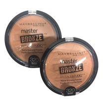Maybelline Master Bronze by FaceStudio Bronzer Lot of 2, #320 Vacation B... - $8.08
