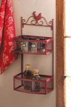 Double Shelf Spice Wall Rack - $49.95