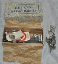 Vtg Greist Sewing Machine Rotary Attachments Ruffler - $14.95