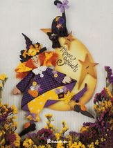 Tole Decorative Painting Moonstruck Halloween Witch Ghost Emily Dinsdale... - $17.99