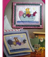 Noah's Ark Wall Hanging Quilt Pattern Applique Quilting Calico Garden vi... - $2.50