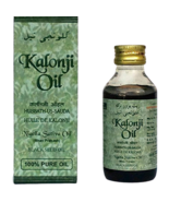 Natural 100% Black Seed Oil Kalonji Oil Nigella Sativa Black Cumin Ashwi... - $10.95
