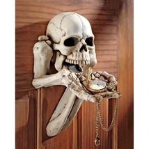 Beggar for Souls Skeleton Wall Sculpture Halloween Decor Watch Key Holde... - $1.372,96 MXN