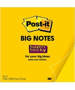 """Post-it Super Sticky Big Notes, 11""""x11"""" 30 Sheets/Pad (BP11Y) - 6 Pads/Case - $34.10"""