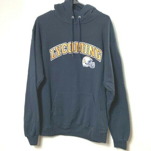Primary image for LYCOMING football hoodie sweatshirt mens large