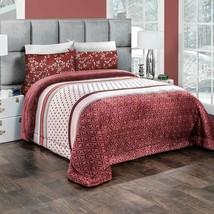 Brown Variety Print Wendy Flannel Extra Soft Blanket by Intima Hogar - $79.95