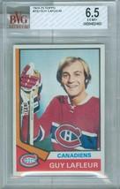 1974-75 Topps #232 Guy Lafleur Bvg 6.5 EX-MT+ - $14.99