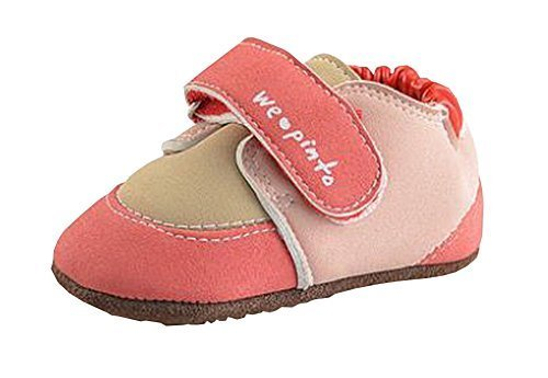 Lovely Baby Shoes Autumn Nonslip Toddler Shoes Red 11.5cm