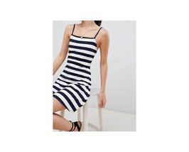 ASOS DESIGN mini square neck sundress in stripe Size US 8 NWT - $12.87