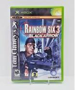 Tom Clancy's Rainbow Six 3 Black Arrow (Microsoft Xbox) Complete with Ma... - $7.70