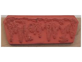 Inkadinkado Winter Wood Mounted Rubber Stamp #2359 image 2