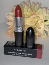 Mac Cremesheen Lipstick ~ 215 Party Line ~ Full Size NIB Authentic Fast/... - $15.79