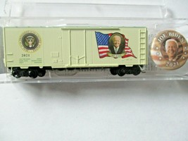 Micro-Trains # 07400146 Joe Biden Presidential 40' Boxcar Road # 2021. N-Scale image 1