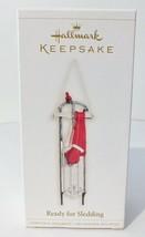 "Hallmark Keepsake Christmas Ornament ""Ready for Sledding"" 2006 MIB Origi... - $9.49"