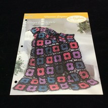 Onyx & Jewels Afghan The Needlecraft Shop Crochet Pattern Instructions 1994 - $4.21