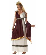 Roman Empress Burgundy Halloween Costume Adult Womans XL - $43.55