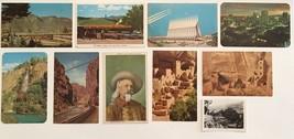 Postcard lot Idaho Springs Waterfall Colorado Red Rocks Trading Post Buff Bill - $18.70