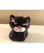 "New!  8"" Black Cat/Kitty Wax Candle - £6.13 GBP"