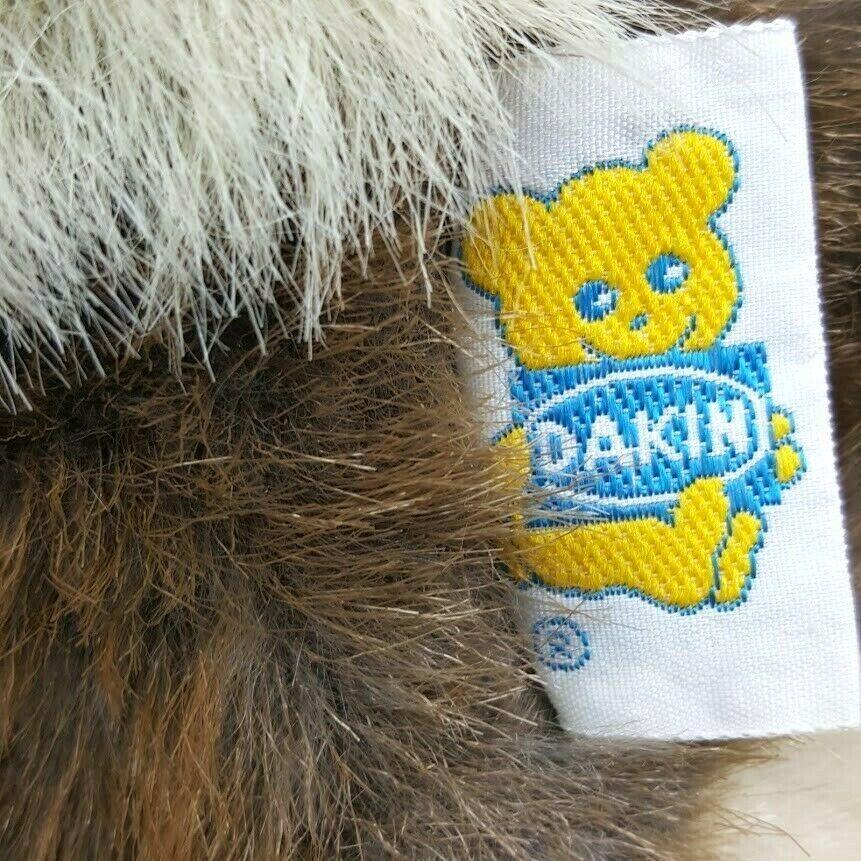 "Vintage Dakin 1986 Bunny Rabbit Sitting 9"" Brown Plush Stuffed Animal Floppy  image 6"