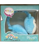 Squishmallow Headphones WINSTON the Bike Owl Plush Kids Adjustable Earph... - $17.99