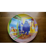 Ronald McDonald, Grimace Fun House Plastic Plate (McDonald's) - $10.00