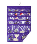 Jewelry Holder Accessories Organizer Hanging Closet Space Saver Travel  ... - $12.59