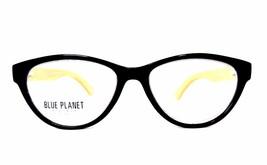 READING EYE GLASSES Eco Friendly BLUE PLANET Designer Women 1.75 Black - $26.08