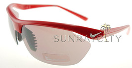 NIKE TAILWIND CRIMSON RED / SMOKE SUNGLASSES EV0 492 602 + FREE GLOBAL S... - $97.51