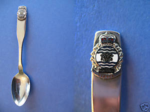 MONTREAL QUEBEC Souvenir Collector Spoon Collectible LATIN Motto SERVIR