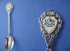 MONCTON New Brunswick Souvenir Collector Spoon CITY Collectible CANADA